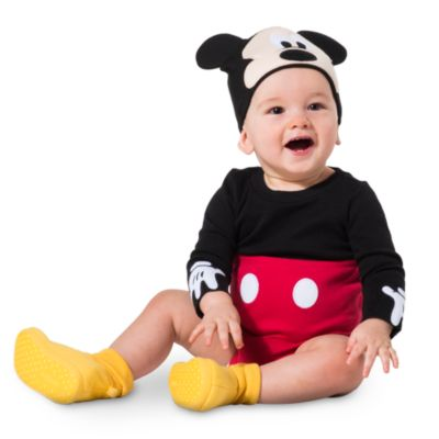 Costume body neonato Topolino