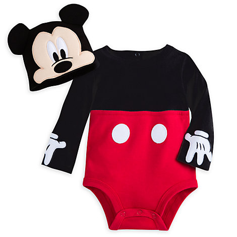 Mickey Mouse Baby Costume Body Suit