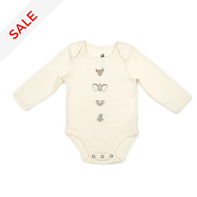 Disney Store Dumbo, Bambi and Simba Baby Body Suit