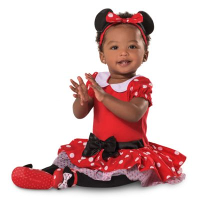 Minnie Maus - Kostüm rot für Babys