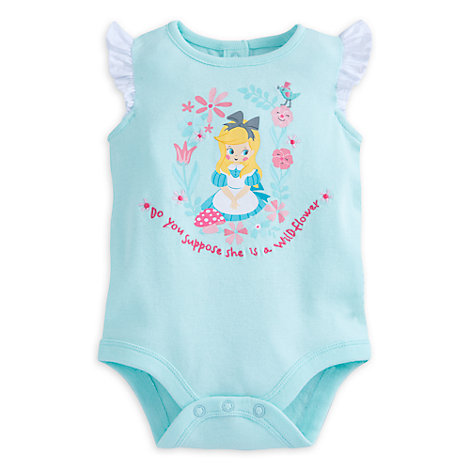 Alice in Wonderland Baby Body Suit
