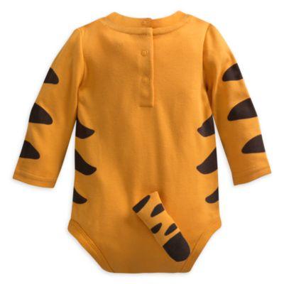 Tigerdyret bodystocking til baby, Peter Plys
