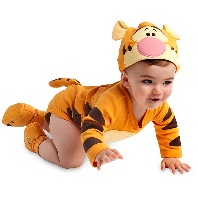 Winnie Puuh - Tigger Kostüm-Body und Hut für Babys