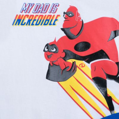 Body pour bébé Incredible Dad, Les Indestructibles2