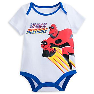 Body pour bébé Incredible Dad, Les Indestructibles 2