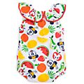 Mickey and Minnie Mouse Summer Fun Baby Body Suit
