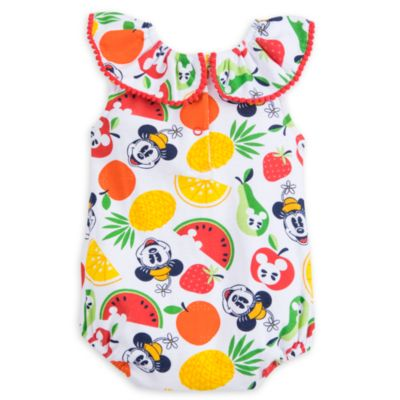 Body pour bébé Mickey et Minnie Summer Fun