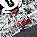 Micky Maus - Body für Babys im Comic-Stil