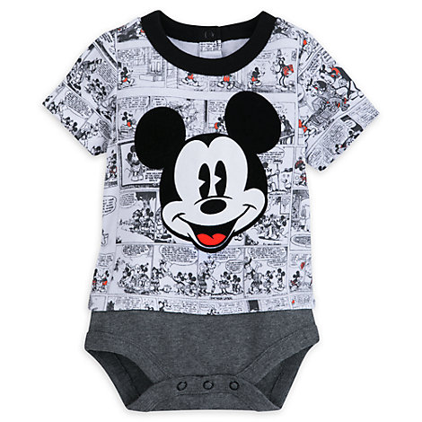 Mickey Mouse Comic Baby Body Suit
