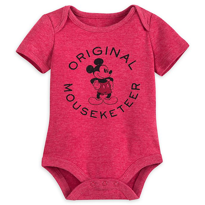 Mickey Mouse 'Original Mouseketeer' Baby Body Suit