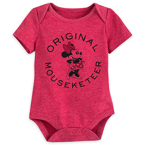 Minnie Mouse 'Original Mouseketeer' Baby Body Suit