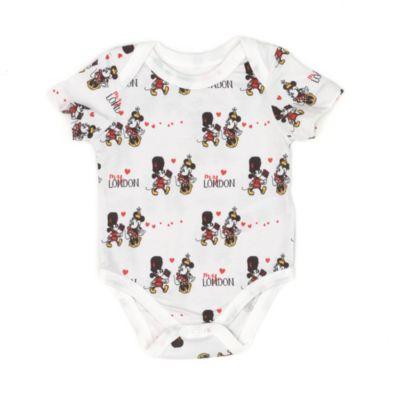Body Mickeyet Minnie pour bébé, série Londres