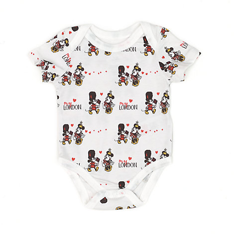 Mickey and Minnie London Baby Body Suit