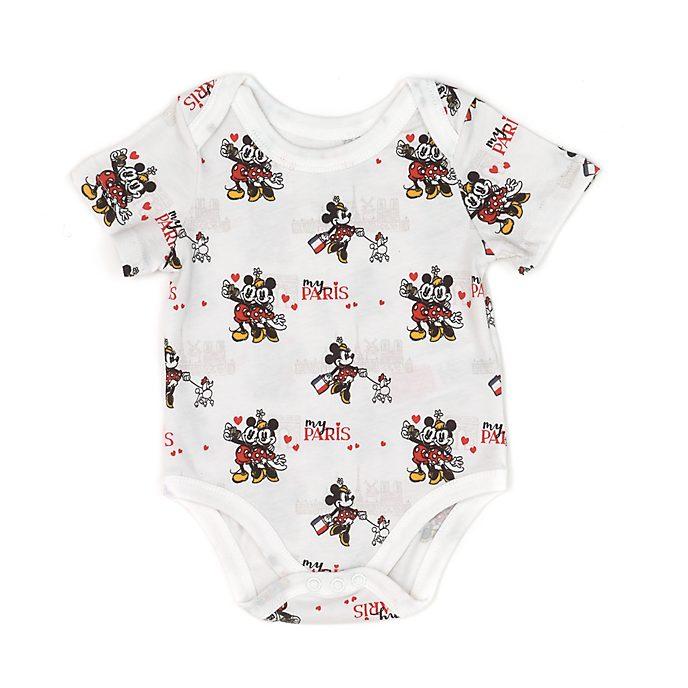 Body Mickeyet Minnie pour bébé, série Paris