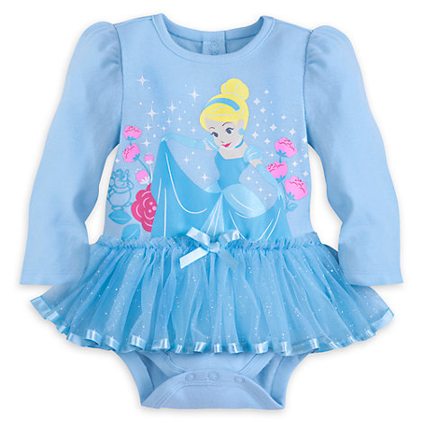 Cinderella Baby Costume Body Suit