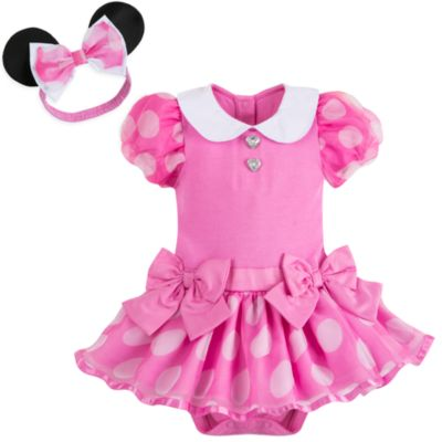 Tutina costume rosa baby Minni