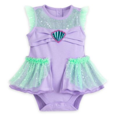 Body déguisement La Petite Sirène pour bébé