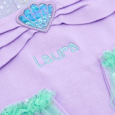 Pelele-vestido de La Sirenita para bebé