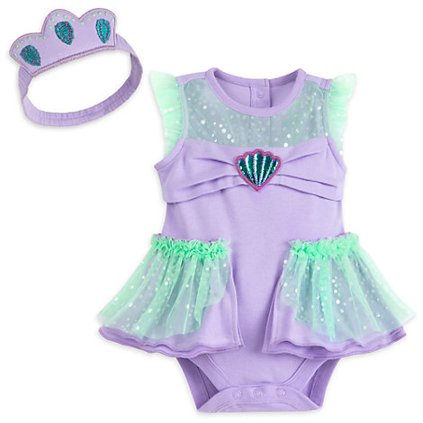 The Little Mermaid Baby Costume Body Suit