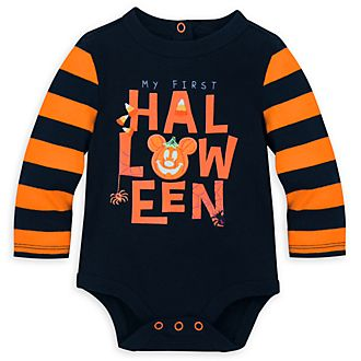 Disney Store Mickey Mouse Baby Halloween Costume Body Suit