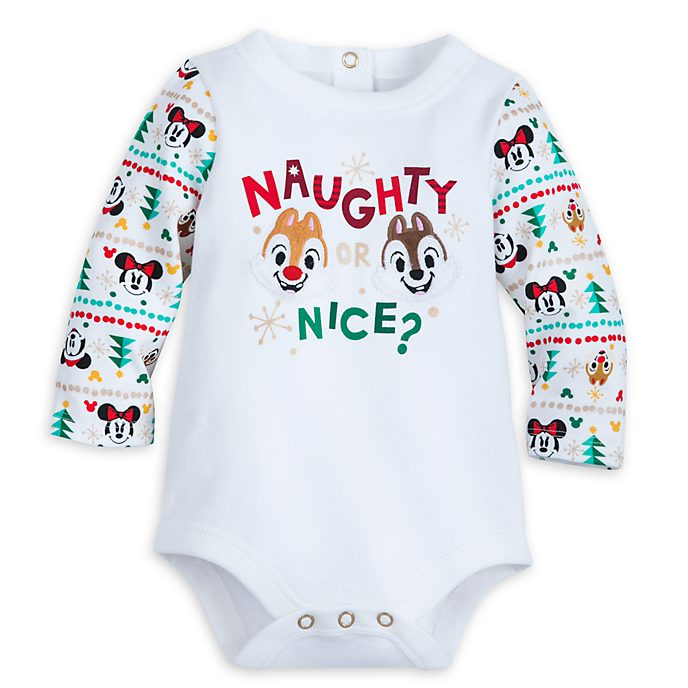 Disney Store Chip 'n' Dale Share the Magic Baby Body Suit