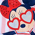 Disney Store Minnie Mouse Striped Baby Body Suit
