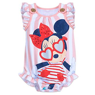 Disney Store - Minnie Maus - Gestreifter Baby Body