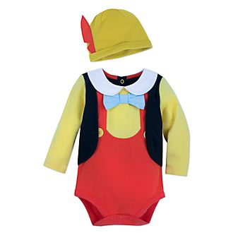 Disney Store Pinocchio Baby Costume Body Suit