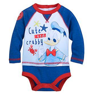 Disney Store Donald Duck Baby Body Suit