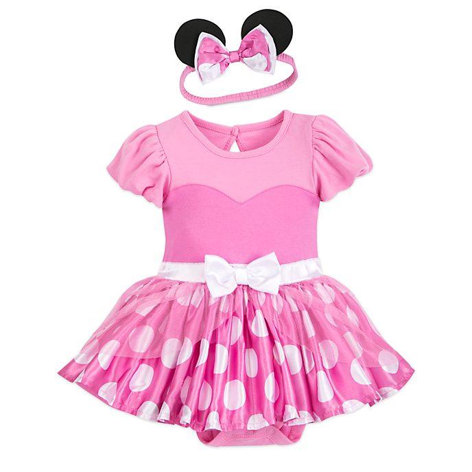 Disney Store - Minnie Maus - Kostüm-Body und Haarband für Babys in Pink