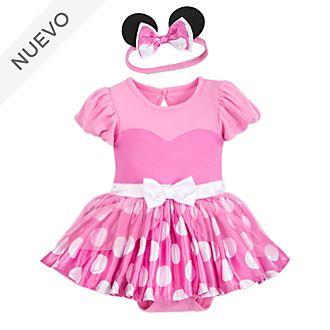 88324dc59 Pelele-disfraz rosa Minnie para bebé, Disney Store
