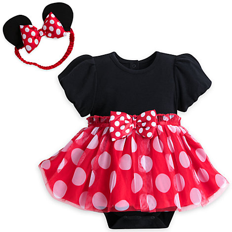 Minnie Mouse bodystocking til baby