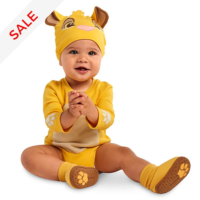 be8af4383 Simba Baby Costume Body Suit