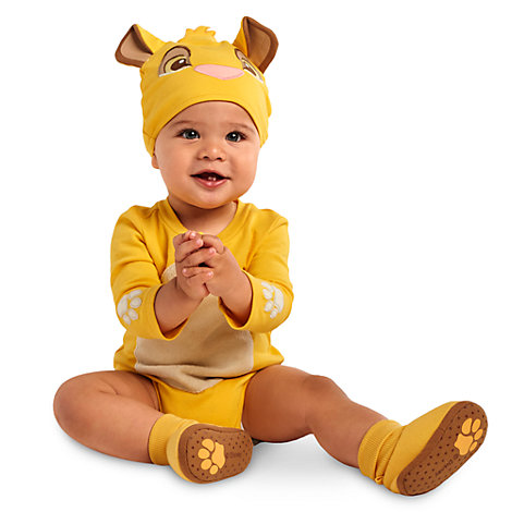 Simba Baby Costume Body Suit