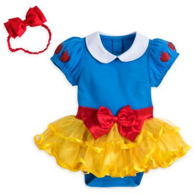 Body déguisement Blanche Neige pour bébé