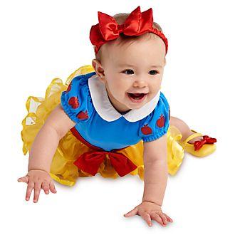 Tutina costume neonato Biancaneve