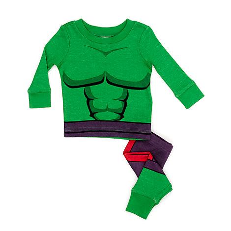 Den utrolige Hulk babypyjamas
