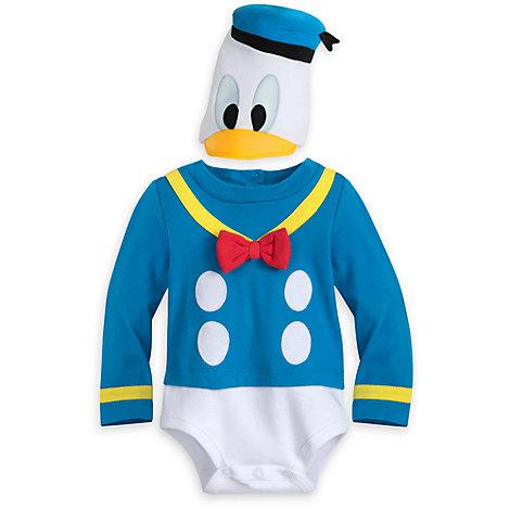 Pelele-vestido del Pato Donald para bebé