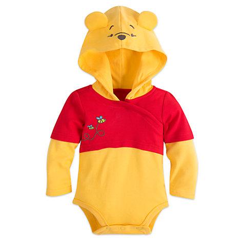 Winnie Puuh - Kostüm-Body und Hut für Babys