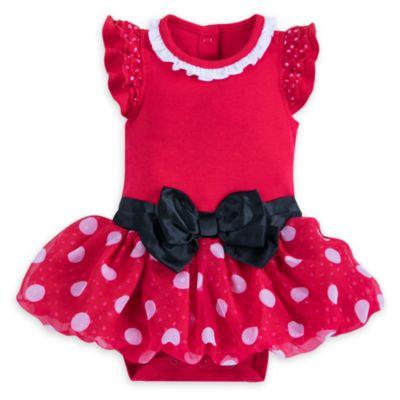 Tutina costume rossa baby Minni