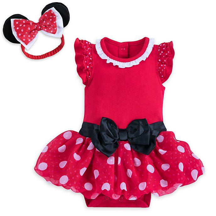 Minnie Maus - Kostüm-Body für Babys in Rot