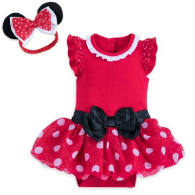 Minnie Mouse Red Baby Costume Body Suit