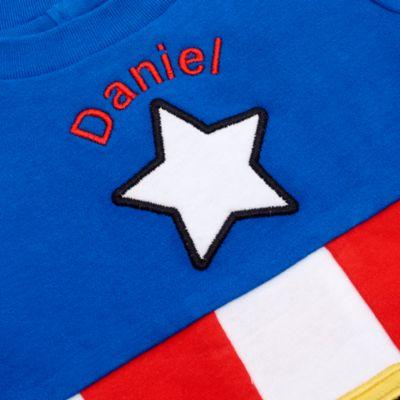 Tutina costume baby Capitan America