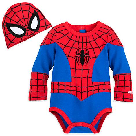 Spider-Man - Kostüm-Body für Babys