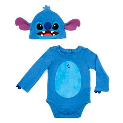 Stitch - Kostüm-Body und Hut für Babys