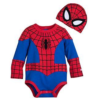 9204ee58a Disfraz para bebé tipo body Spider-Man
