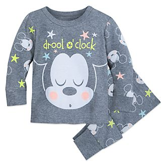 Disney Store Mickey Mouse PJ PALS Baby Set
