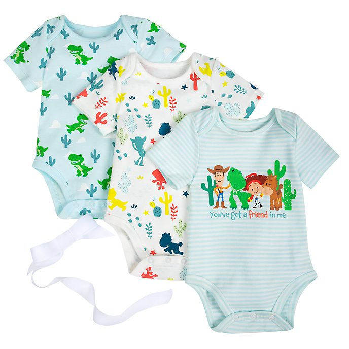 Disney Store Toy Story Baby Body Suit Gift Set