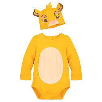 Disney Store - Simba - Kostüm-Body und Hut für Babys