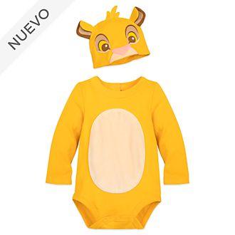 Pelele-disfraz Simba para bebé, Disney Store